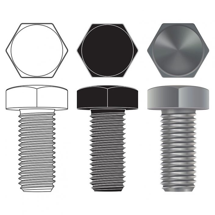 Hex-Bolts